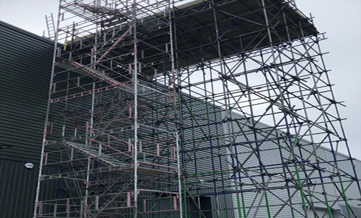Commercial Scaffolding Supplied by M&G (UK) Scaffolding Ltd